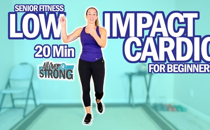 Senior Fitness 20 Min Low Impact Cardio Workout For Beginners 👍👌